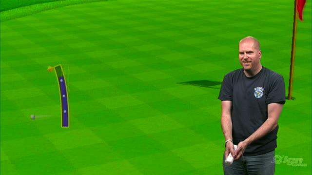 Wii Sports Resort Nintendo Wii Gameplay - 1 1 Wii Motion Plus Demo Golf