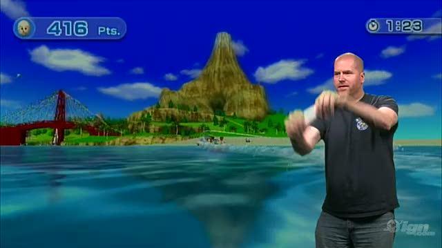 Wii Sports Resort Nintendo Wii Gameplay - 1 1 Wii Motion Plus Demo Wakeboarding