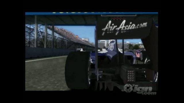 F1 2009 Nintendo Wii Trailer - GC 2009 Gameplay Trailer