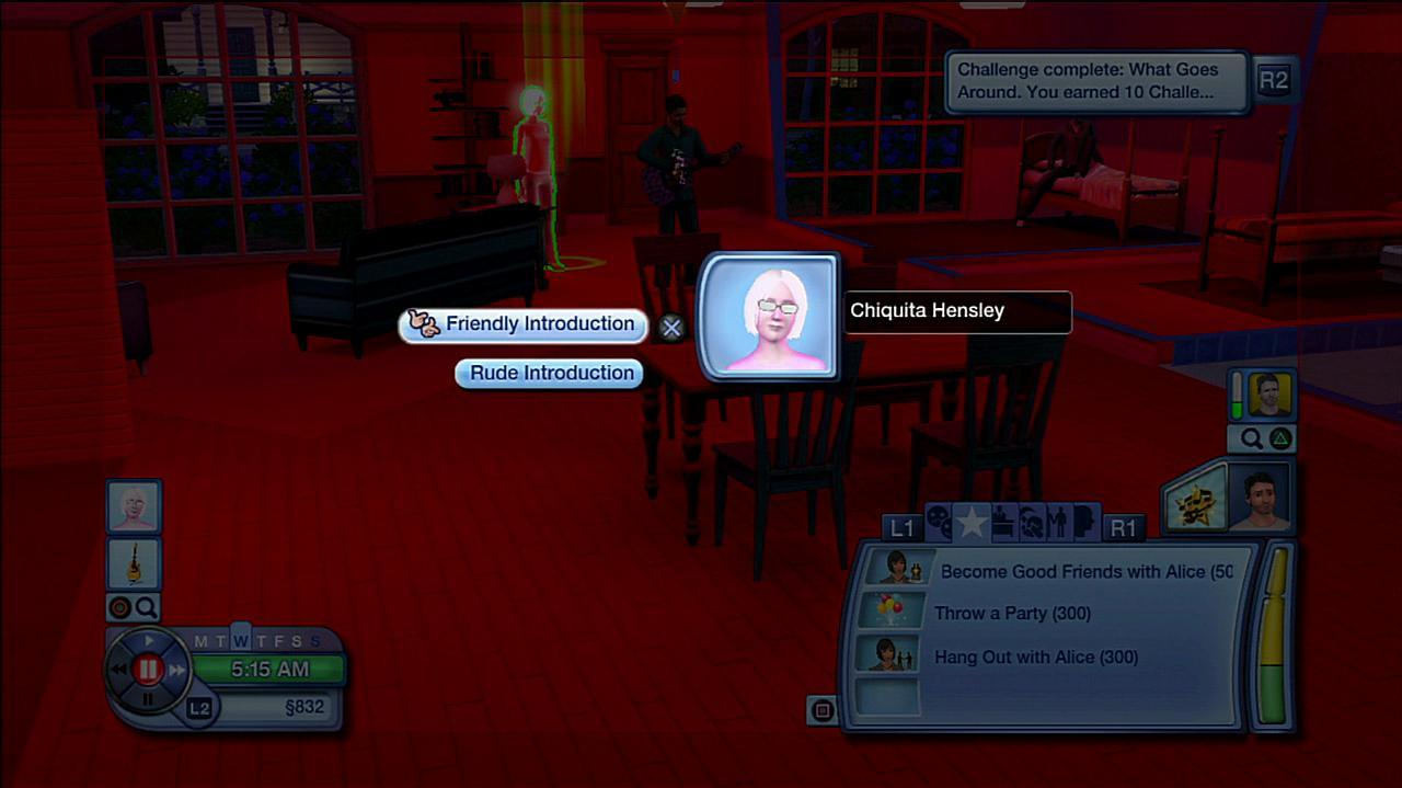The Sims 3 Ghost of Sims Past Gameplay