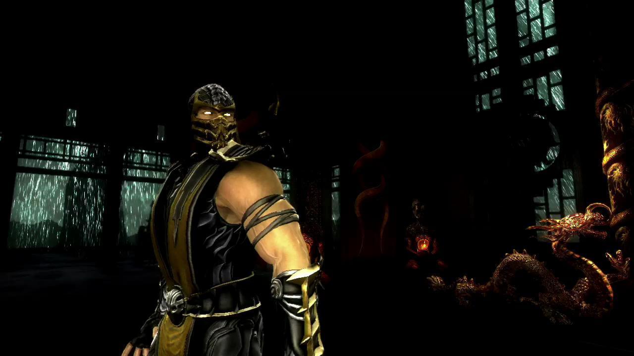 Mortal Kombat Character Vignette Scorpion