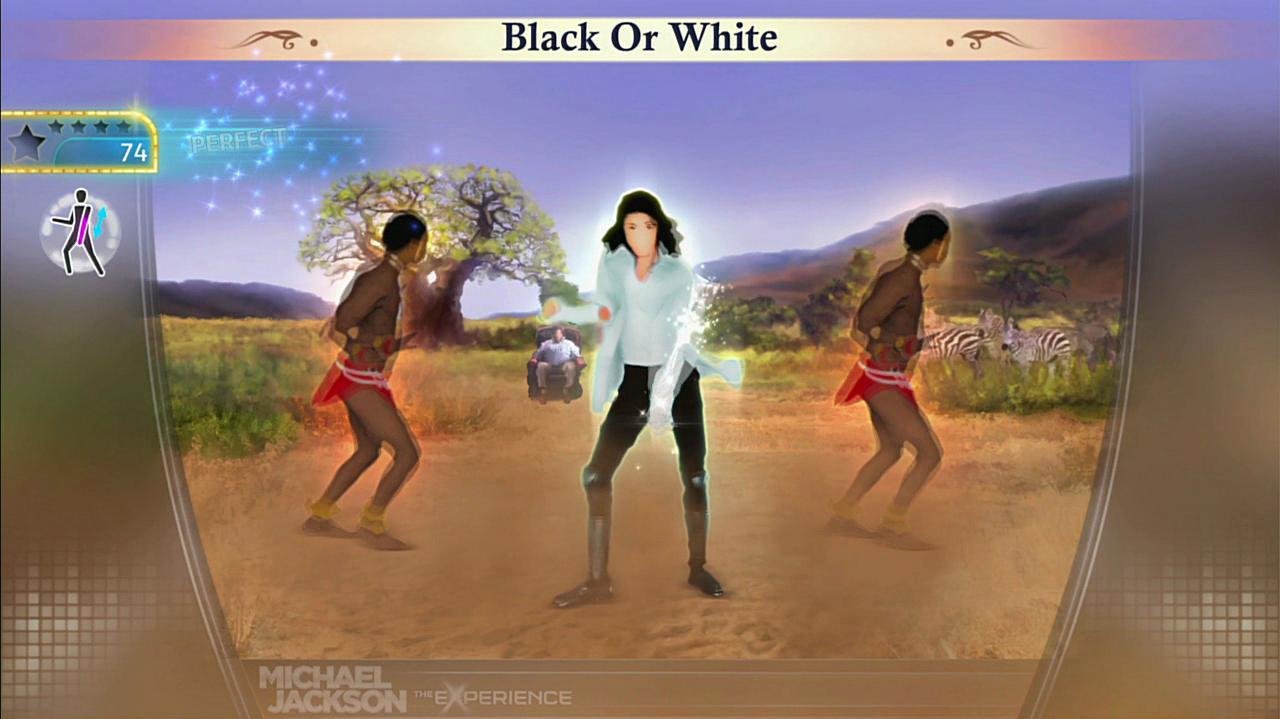 Michael Jackson The Experience - Black or White