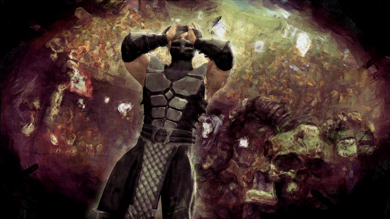 Mortal Kombat Smoke Ending