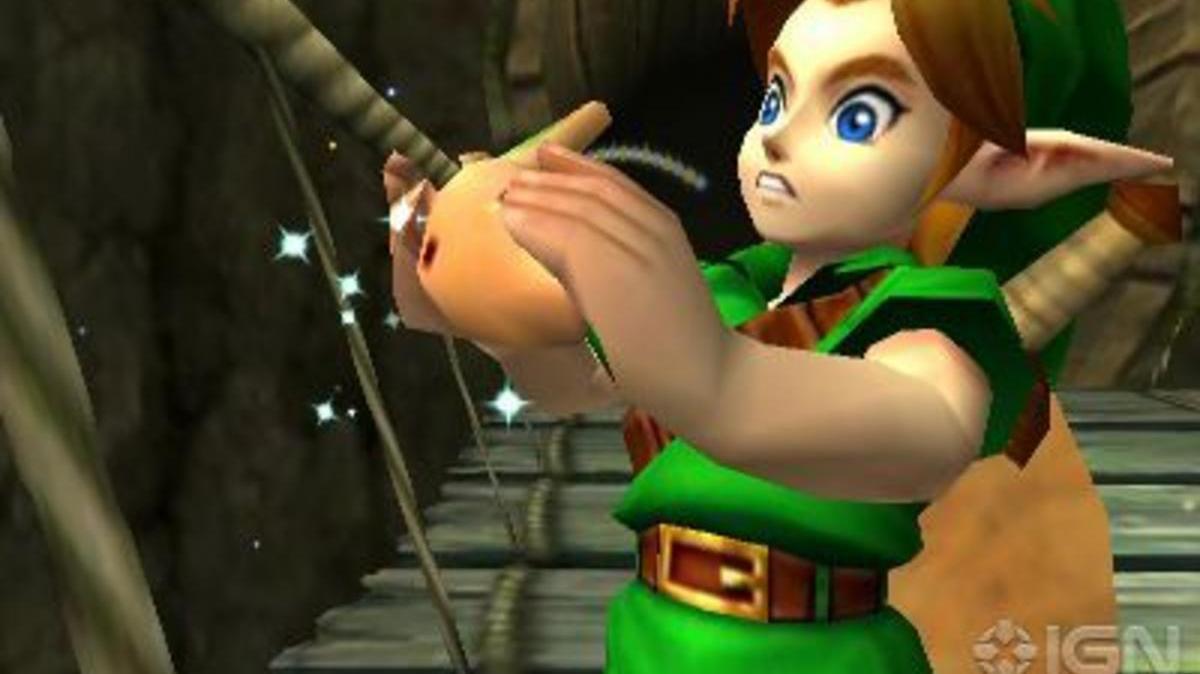 The Legend of Zelda Ocarina of Time 3D Epic Quest Trailer