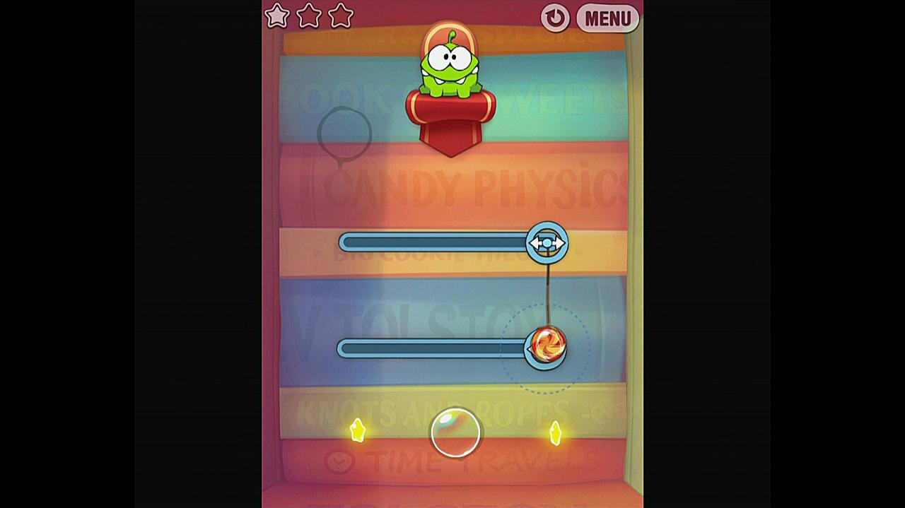 Cut the Rope Experiments Getting Started 1-11 Walkthrough