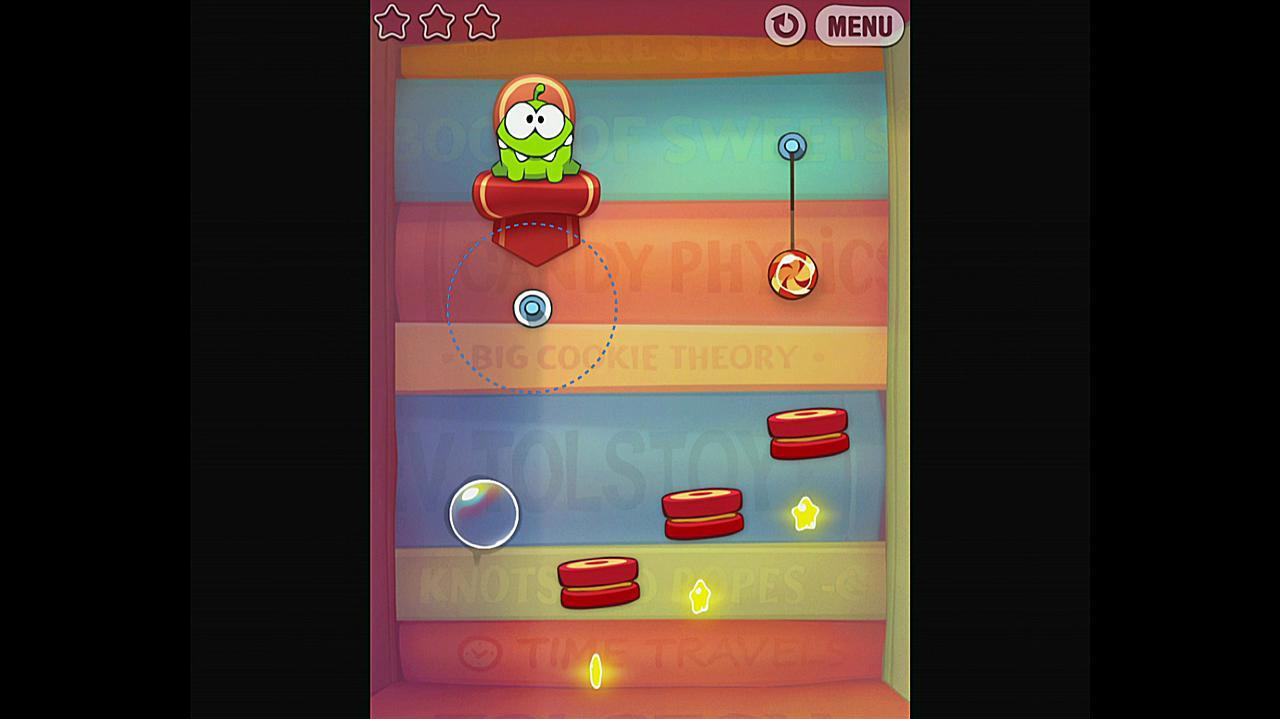 Cut the Rope Experiments Getting Started 1-21 Walkthrough