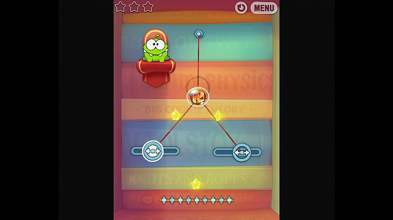 Cut the Rope Experiments Getting Started 1-16 Walkthrough