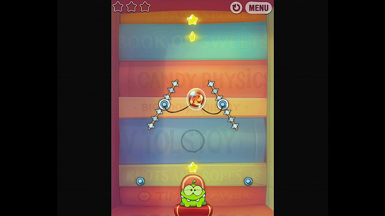 Cut the Rope Experiments Getting Started 1-17 Walkthrough
