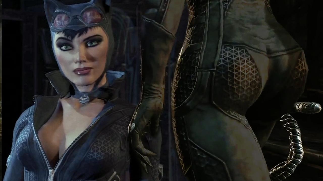 Catwoman is Dead Sexy in Batman Arkham City