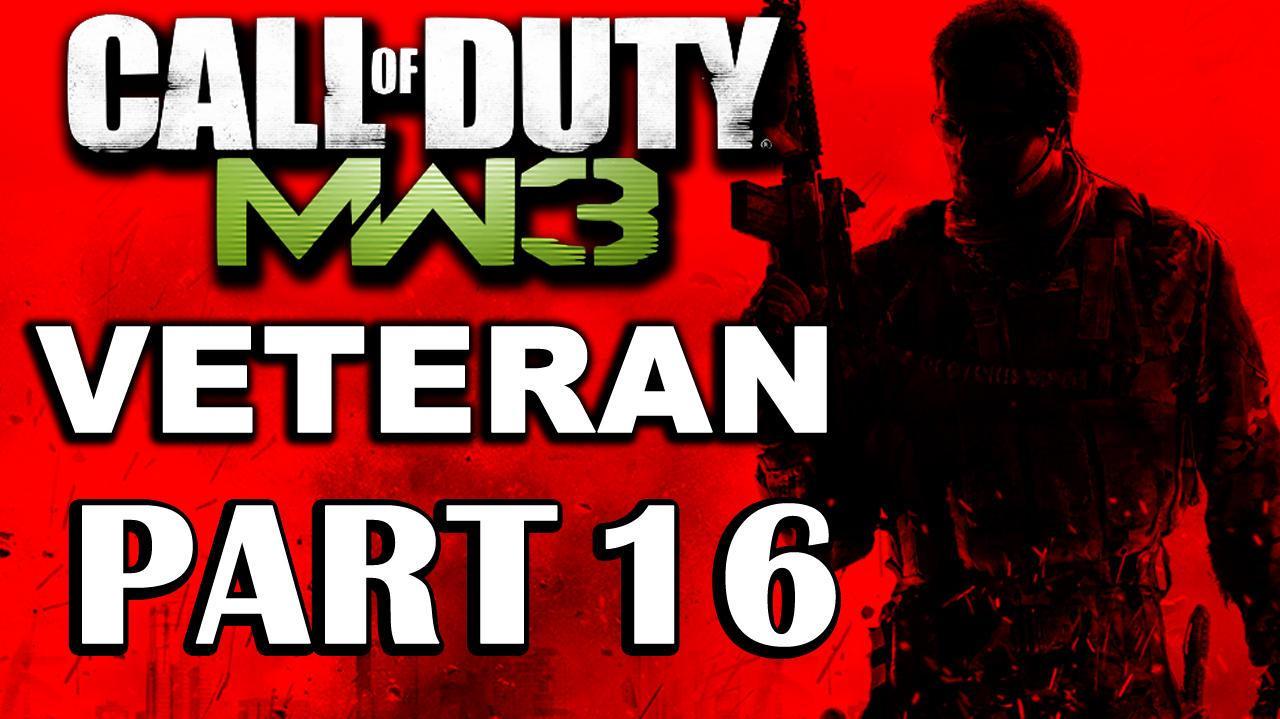 Call of Duty Modern Warfare 3 Veteran Walkthrough (Part 16) Dust to Dust