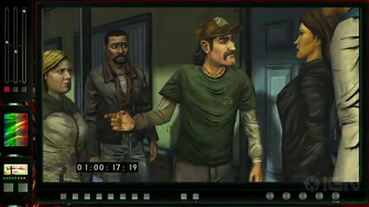 The Walking Dead Episode 3 Rewind Theater