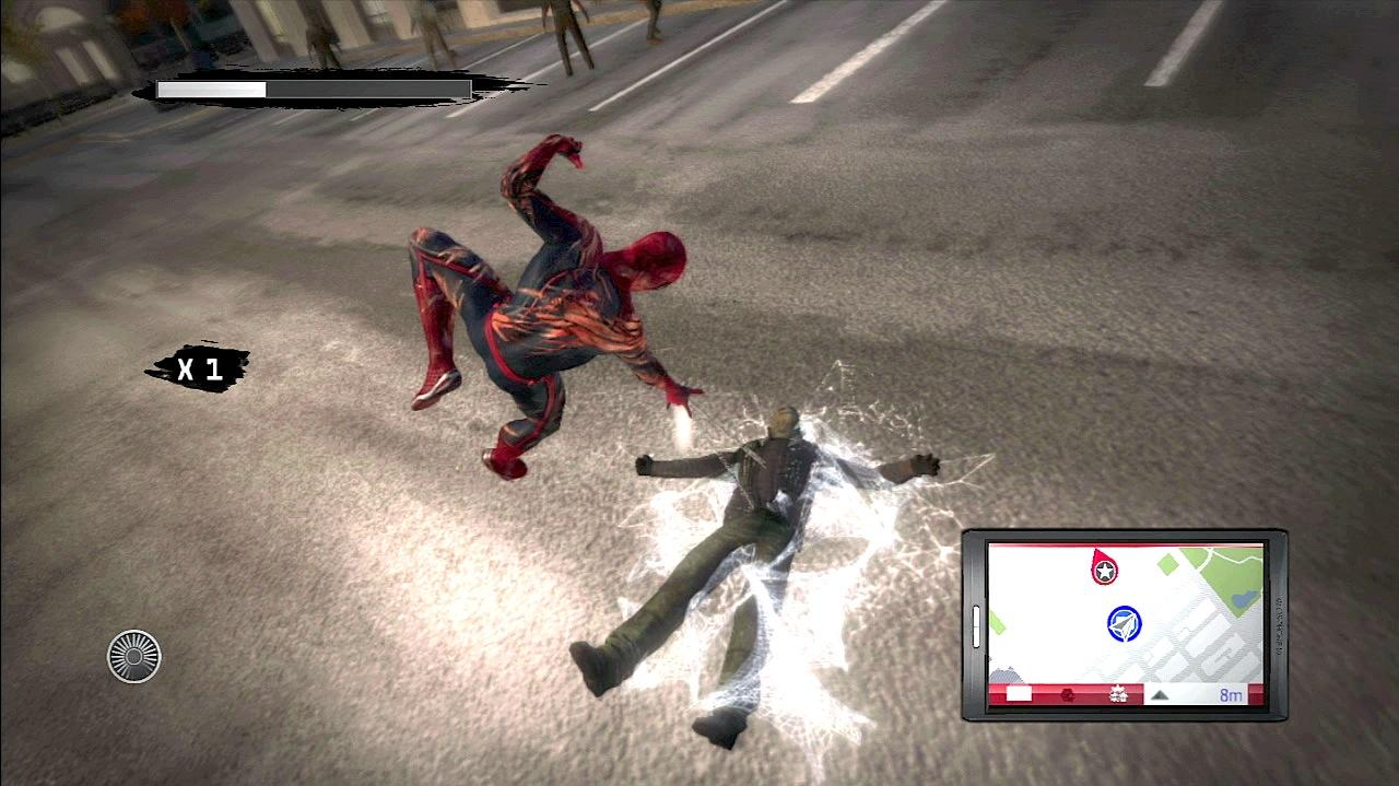 The Amazing Spider-Man Saving The Day