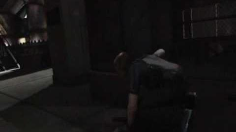 Resident Evil Degeneration - Leon's Dodge Scene