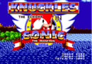 Knuckles The Echidna in Sonic the Hedgehog Title Screen.png
