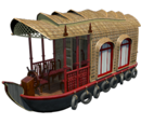 Burmese Houseboat