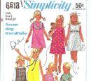 Simplicity 6518 B