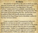 A Beginner's Guide to Transfiguration/Avifors