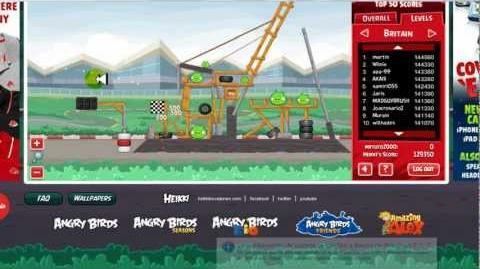 Gameplay Angry Birds Heikki