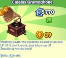Cassius Gramophone