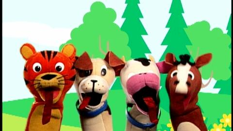 Baby Einstein Numbers Nursery (2003) - Clip Puppets and Animals- 26
