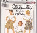 Simplicity 8504 A