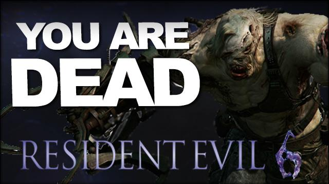 You Are Dead The Deaths of Resident Evil 6 (SPOILERS)
