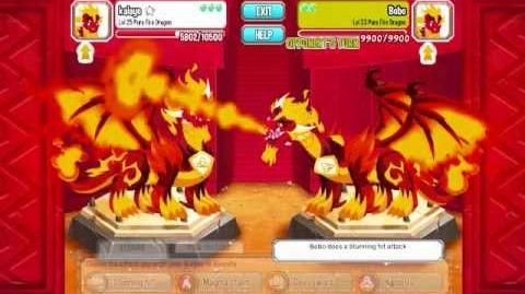 Dragon city combat. my super team.