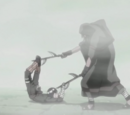 Naruto Uzumaki e Rock Lee vs. Raiga Kurosuki