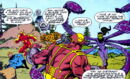 Fantastic Five (Earth-982) and Superoid (Earth-982) from Fantastic Five Vol 1 2 0001.jpg