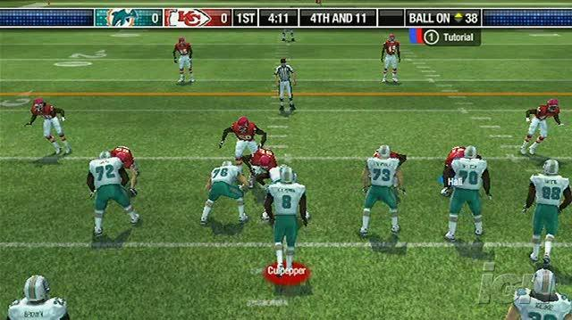 Madden NFL 08 Nintendo Wii Gameplay - Chiefs vs. Dolphins (480p)