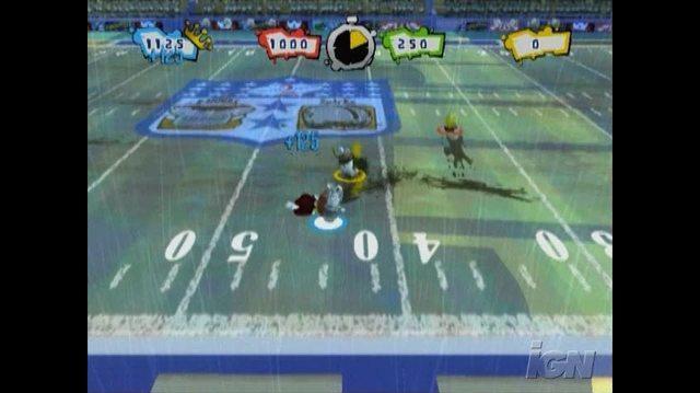 Rayman Raving Rabbids 2 Nintendo Wii Gameplay - Football Mini-game