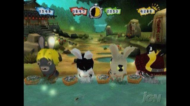 Rayman Raving Rabbids 2 Nintendo Wii Gameplay - Dirty Laundry