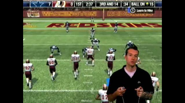 Madden NFL 08 Nintendo Wii Preview - Pass, Catch, and Juke