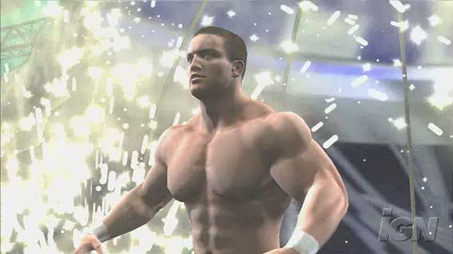 WWE SmackDown vs. Raw 2008 PlayStation 3 Gameplay - Chris Masters Entrance