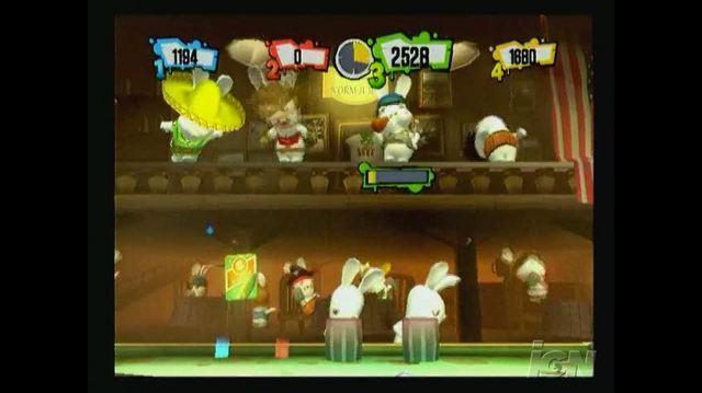 Rayman Raving Rabbids 2 Nintendo DS Gameplay - Gameplay Montage