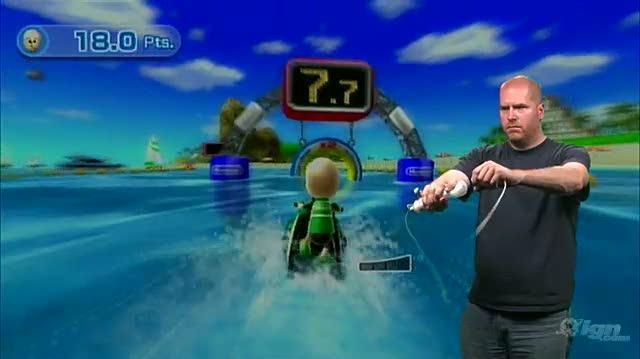 Wii Sports Resort Nintendo Wii Gameplay - Power Cruising