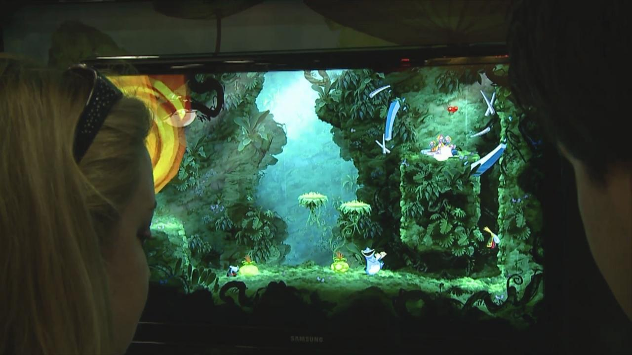 Comic Con - Rayman Origins - Off Screen Gameplay 2