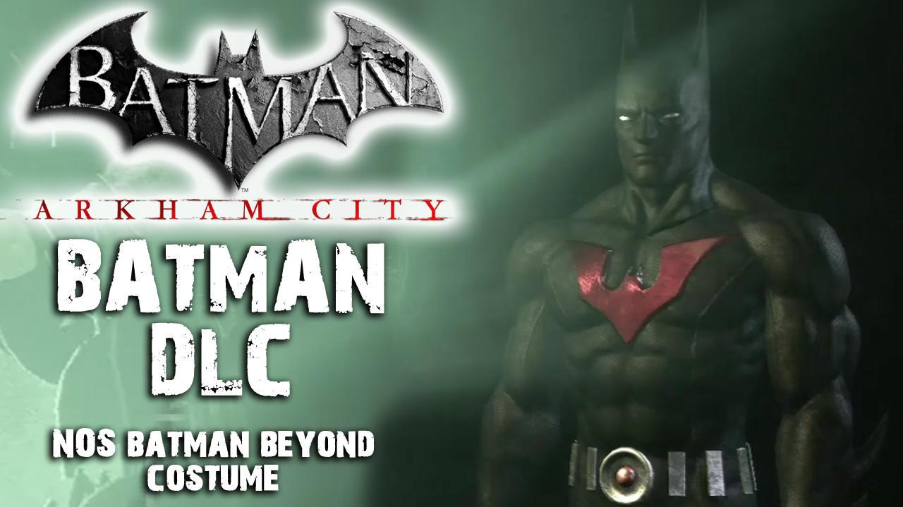 Batman Arkham City - Batman Beyond Costume