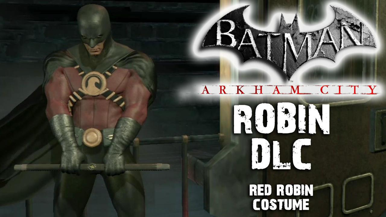 Batman Arkham City - Red Robin Costume DLC
