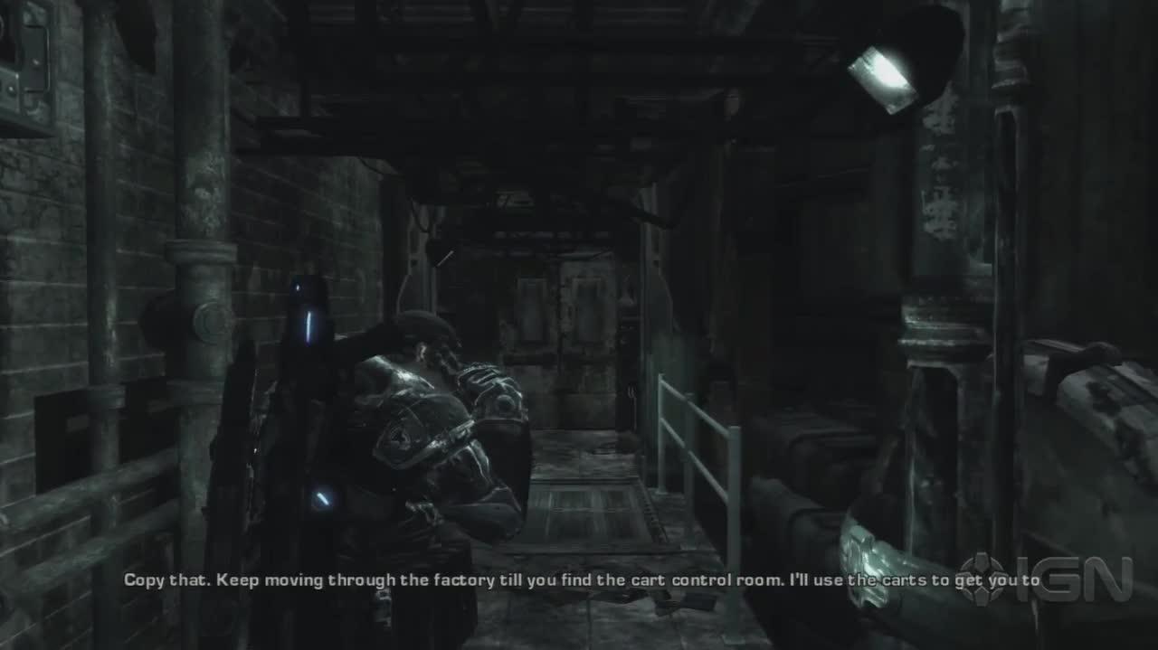 Gear of War - Inside the factory - Gameplay