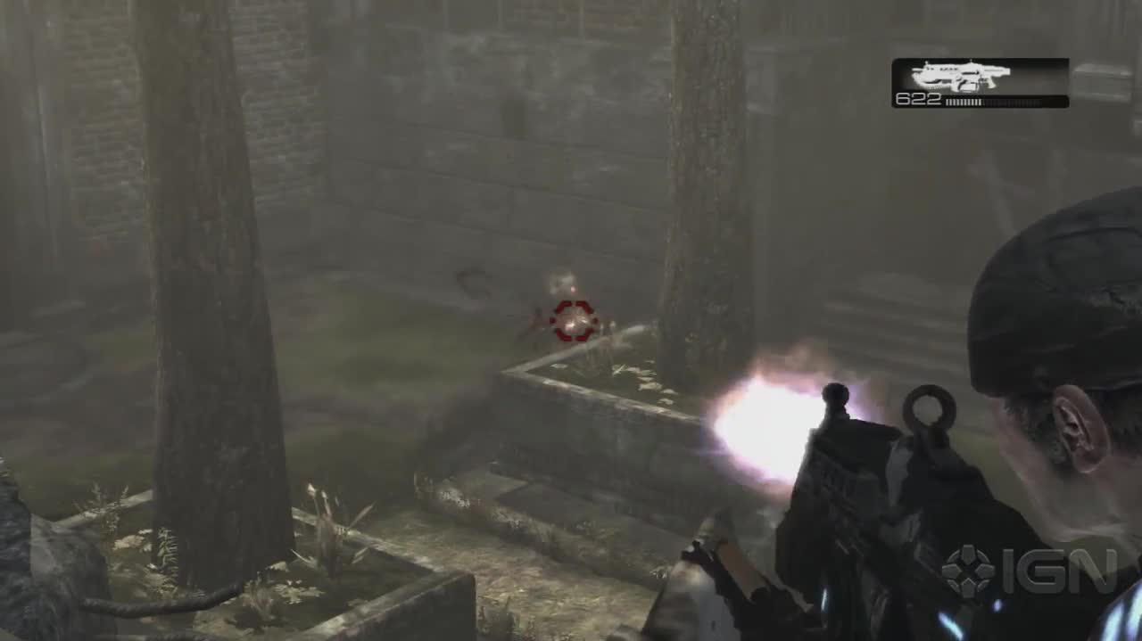 Gears of War- Covering the Alley - Gameplay