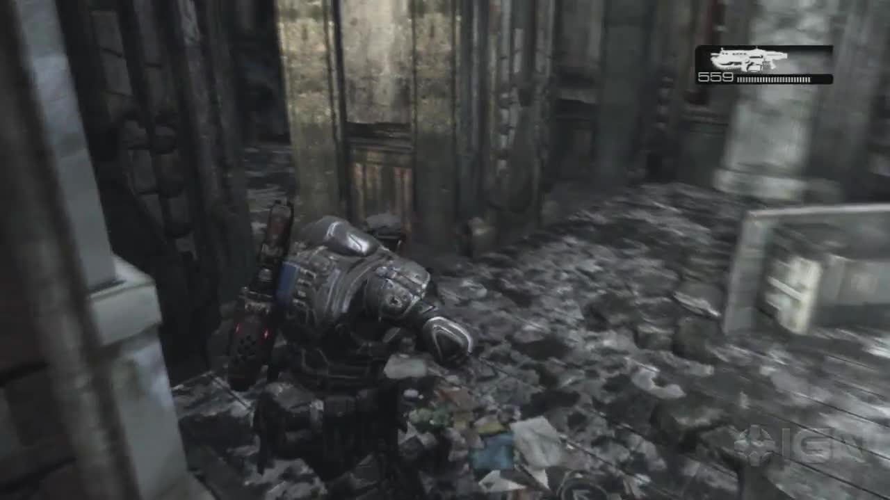 Gears of War - Carmine's Death - Gameplay
