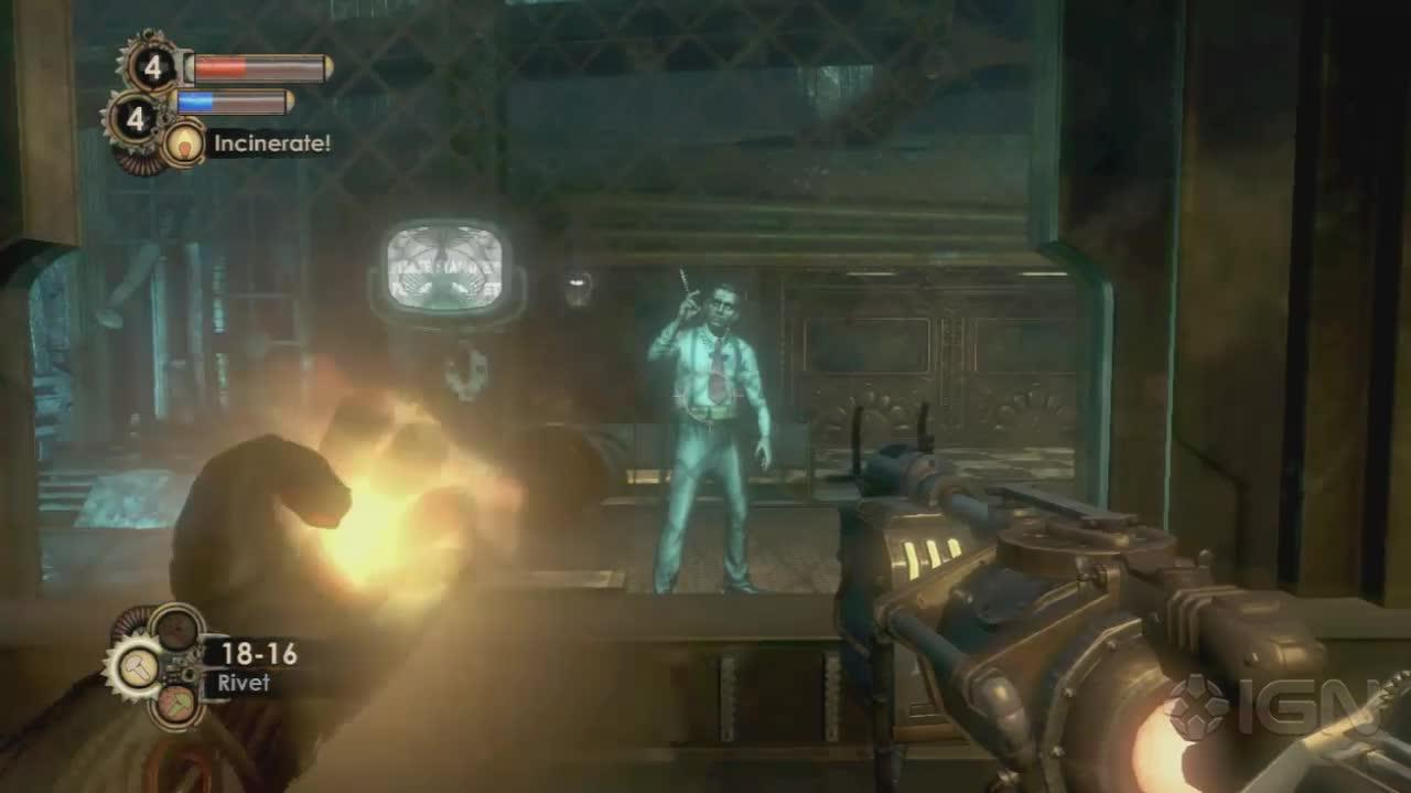 BioShock 2 -Sinclair's Solution - Gameplay