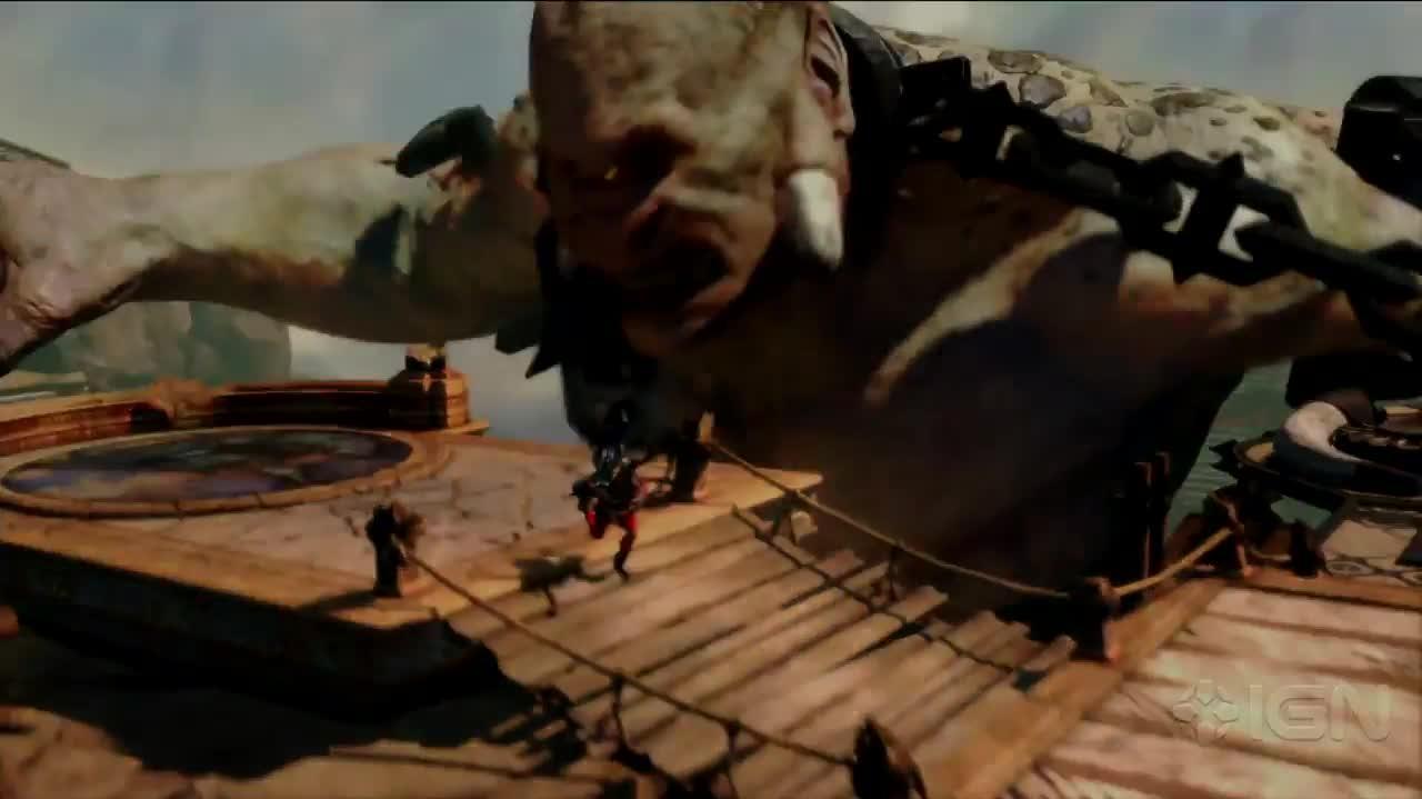 God of War Ascension's Brutal Combat Trailer