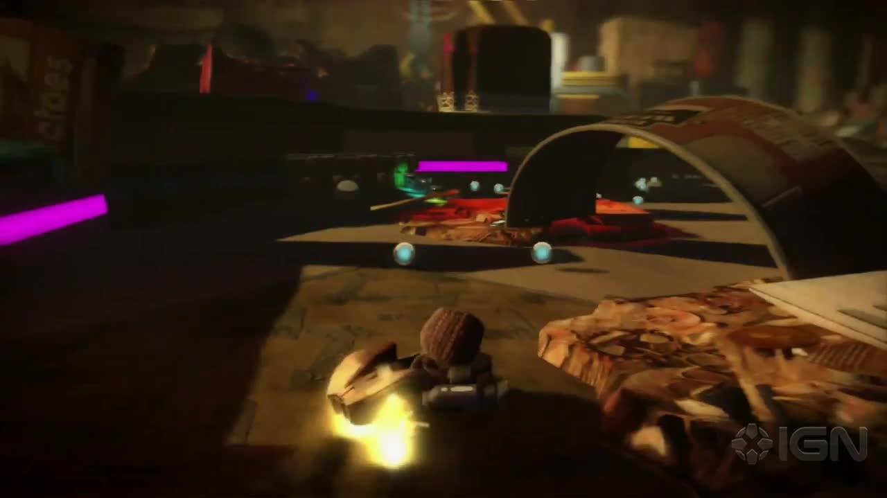 LittleBigPlanet Karting Gamescom 2012 Trailer
