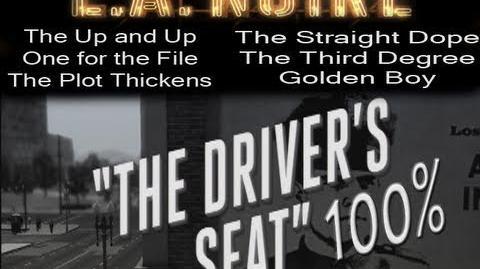 LA Noire - Walkthrough Mission 1 Part 1 The Driver's Seat