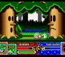 Mini-Juegos de Kirby y el Laberinto de los Espejos