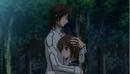 Kaname & Yuki embracing.png
