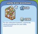 Agetha Brass Greenhouse