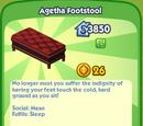 Agetha Footstool